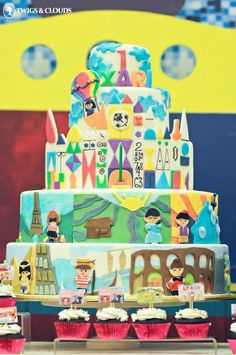 Xari's It's A Small World Themed Party: Cake