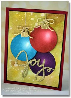 paper circle homemade christmas card 1000 images about cards on 7002
