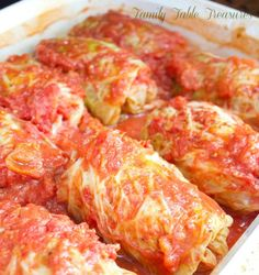 Polish Cabbage Rolls {Galumpkis} {Celebrating Our Heritage Series} - Family Table Treasures