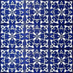 DECORATIVE CERAMIC TILES: accent mosaic hand painted wall decor kitchen bathroom pool patio flooring art tile  4in x 4in