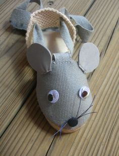 Alpargata - ratón www.donpisoton.com