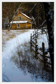 Log Cabin - Eagle, Wisconsin