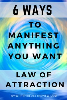 How to manifest with the law of attraction? 6 ways to manifest anything with the law of attraction. Read it here. Manifest now with the law of attraction. Manifestation Law Of Attraction, Law Of Attraction Affirmations, Manifestation Journal, Law Of Attraction Love, Manifesting Money, How To Manifest, Positive Affirmations, Positive Phrases, Positive Things