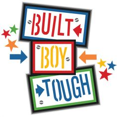 Built Boy Tough Title SVG scrapbook cut file cute clipart files for silhouette cricut pazzles free svgs free svg cuts cute cut files Silhouette Design, Silhouette Files, Silhouette Projects, Silhouette Cameo, Cute Clipart, Clipart Boy, Baby Boy Scrapbook, Baby Clip Art, Scrapbook Titles