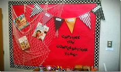 PIRATE Theme....Cute and creative use with fish net and banner.