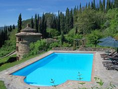 Rustic Luxury At This Tuscan Estate With a Farmhouse and Tower