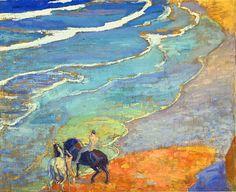 Daniel Vazquez Diaz (1882-1969), La Mer - 1908/14