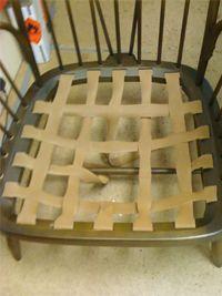 Replacing webbing on Ercol furniture