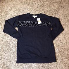 Selling this Michael Kors Faux Fur Cheetah Sweatshirt in my Poshmark closet! My username is: the_lex_factor. #shopmycloset #poshmark #fashion #shopping #style #forsale #Michael Kors #Tops