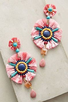 La Fiesta Drop Earrings