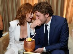 """Sarandon's son also piped up to defend his mother's cleavage. """"If Piers Morgan wants to make fun of my mother and focus his energy on that, then power to him. Aren't there a million other things he could be preoccupied with than my mum's breasts?"""" the 26-year-old film director said, The Mirror reported. """"If she wasn't 69 no one would be saying anything. It's ageist and sexist to attack her. She's a beautiful woman."""""""