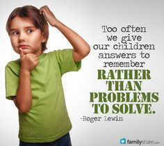 The importance of letting kids solve their own problems