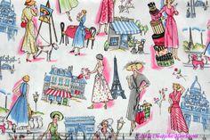 fabric.com  michael miller-springtime in paris