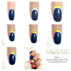 Sbs Nail Technician, Nail Artist, Mosaic, Nails, Finger Nails, Ongles, Mosaics, Nail, Sns Nails