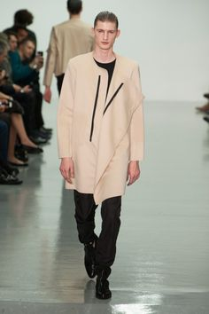 Défile Lee Roach, homme automne-hiver 2014-2015, Londres. #LFW #fashionweek #runway
