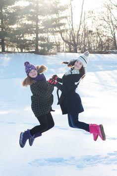 Portraits by Hilary - Best Friend, Winter Portraits - Onalaska, Wisconsin