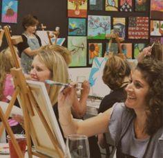 Atelier de pictura La prima vedere e doar un hobby. De fapt, aflam ceva despre noi insine. De fapt, luam o echipa si o consolidam.