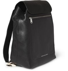 Marc by Marc Jacobs Full-grain Leather Backpack