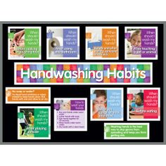 Teach your #students healthy #handwashing habits with this bulletin board kit!