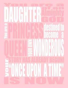 Daughter, Princess, Queen