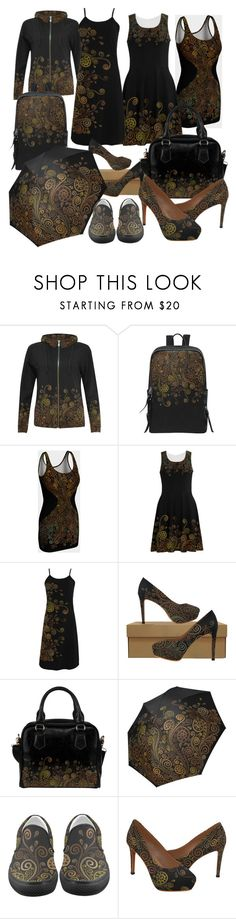 """3D Psychedelic Bown"" by ivaw on Polyvore"