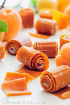 The kids go crazy for this apricot fruit leather! Easy, tastes way better than storebought and only TWO INGREDIENTS! How to make fruit leather natashaskitchen com is part of Apricot fruit - Apricot Fruit Leather Recipe, Peach Fruit Leather, Fruit Snacks, Fruit Recipes, Healthy Snacks, Fruit Fruit, Kid Snacks, Plum Fruit, Kid Lunches