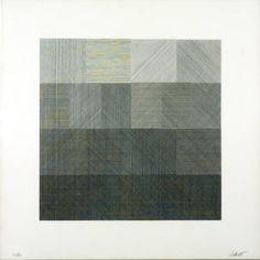 Sol LeWitt 1928-2007 - from composite Series (set of 5) 1971, Lithograph on paper