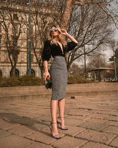 Classy Business Outfits, Classy Work Outfits, Office Outfits Women, Stylish Outfits, Glamorous Outfits, Work Fashion, Fashion Outfits, Outfit Elegantes, Office Looks