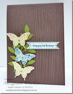 Stampin' Up! Birthday by Meighan W