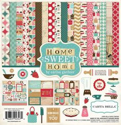 Carta Bella Paper - Home Sweet Home Collection - 12 x 12 Collection Kit at Scrapbook.com