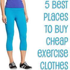 cheap workout clothes