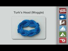 Turk's Head | How to tie a Turk's Head | Decorative Knots