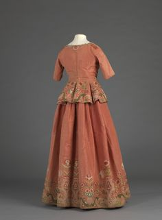 Jacket and petticoat, 1730-50