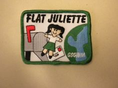 Flat Juliette - a cute Girl Scout alternative to Flat Stanley!