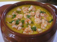 A delicious Brazilian Shrimp dish