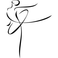 silhouette de danseuses - Recherche Google Doodle Drawings, Easy Drawings, Figure Drawing, Line Drawing, Mode Poster, Dancing Drawings, Dance Art, Simple Lines, Wire Art