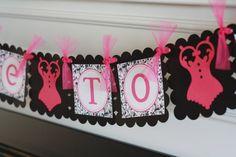 Lingerie Shower & Bachelorette party decorations