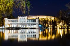 Casino and football stadium Reflexion Chios, Football Stadiums, Romania, Sweet Home, Mansions, House Styles, Home Decor, Decoration Home, House Beautiful