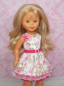 Ropa American Girl, American Girl Clothes, Girls Dresses, Flower Girl Dresses, Summer Dresses, Marie Clare, Doll Fancy Dress, Kool Kids, Wellie Wishers