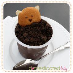 Groundhog Day pudding snack!      RSmith