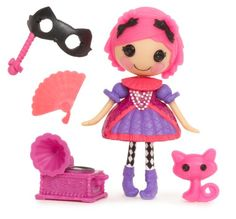 Lalaloopsy Mini Confetti Carnivale Doll: Hold the cuteness of Lalaloopsy in the palm of your hand. Mini Lalaloopsy each come with an adorable pet and fun accessories that fit their personalities. Lalaloopsy Mini, Minnie Mouse Toys, Doll Toys, Dolls, Moose Toys, Kids Store, Cute Characters, Doll Accessories, Xmas Decorations