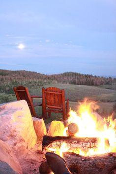 bonfires in Taos New Mexico... good college memories