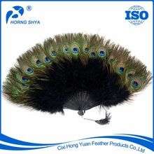 Feather Peacock Fans, Feather Peacock Fans direct from Cixi Hong Yuan Feather Products Co., Ltd. in China (Mainland)
