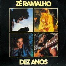 Ze Ramalho - Dez anos - capa