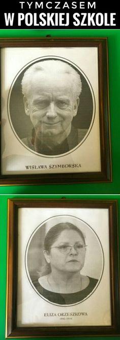 TYMCZASEM W POLSKIEJ SZKOLE #humor #szkola #Polska #starwars #Palpatine #Pawlowicz #Szymborska #Orzeszkowa Star Wars Meme, School Memes, Everything, The Cure, Sci Fi, Funny Memes, Lol, Polish, Smile