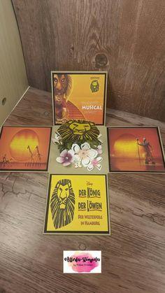 Explosionsbox König der Löwen | Allerlei-stempelei