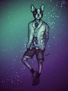 para un invierno sin frio y día del diseñador grafico le puse mas color :)   espero que les guste :)     Lapïn