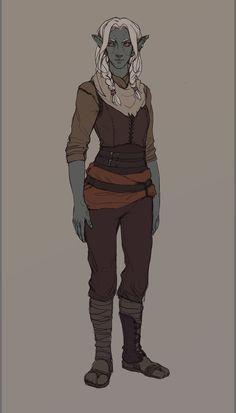 Dunmer character - 2 by Selann.deviantart.com on @DeviantArt
