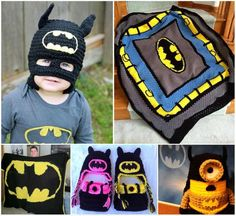 Any Batman fans in the house? We've put together this fun collection of Crochet projects for you to enjoy and make! They're great to make, would make fantastic gifts, and imagine the fun photos you can take! Source Batman Hat FREE Crochet Pattern via 'Craft Own' Batmask FREE Crochet Pattern via 'Ravelry' Batman Crochet Minion Paid Pattern via  'JAMijurumi' Batman Crochet Hats …