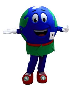 This is the Globe mascot made for the City of Alton!